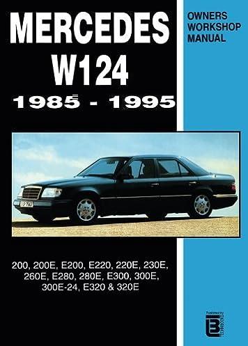 mercedes w124 owner s workshop manual 1985 1995 r m clarke rh amazon com Mercedes- Benz W116 Mercedes- Benz W116