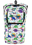 KANDYPACK Rave Hydration Pack Backpack with Water Bladder (Dinosaur)