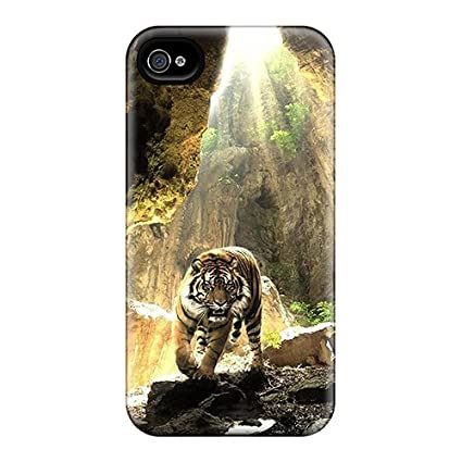 Amazon.com: Durable Defender Case For Iphone 4/4s Tpu Cover ...