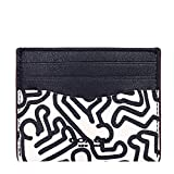 Coach X LIMITED EDITION GRAFFITI Card Case Leather KEITH HARING Wallet