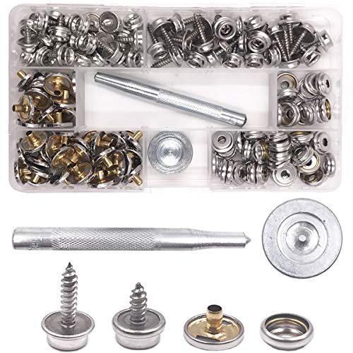 Automobiles & Motorcycles Honesty 30pcs Stainless Steel Boat Cover Canvas Fastener Fast Snap Stud Cap Socket Kit Buy Now Boat Parts & Accessories