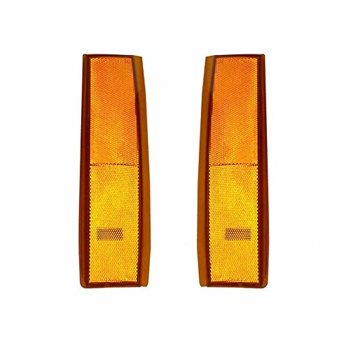 NEW PAIR OF SIDE MARKER LIGHTS FITS CHEVROLET C1500 SUBURBAN 5975200 GM2551141 5975199 GM2550141