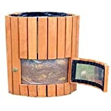 Wooden Potato Planter Potato Grow Planter Pot Container Barrel For Growing Potatoes Outdoor Vertical With Flap & Ebook by Easy 2 Find.