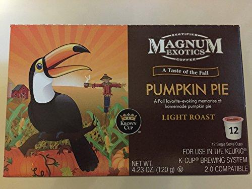 Magnum Exotics, Pumpkin Pie, Coffee K-cup (12-count)