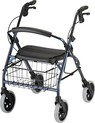 NOVA Medical Products Cruiser Deluxe Walker, Blue