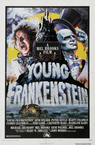 Twenty-three 24X36 Inchcanvas poster-Young Frankenstein - Mo