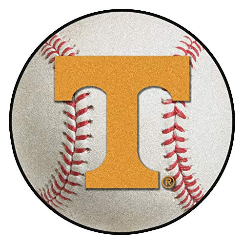 Tennessee Baseball Rug - FANMATS NCAA University of Tennessee Volunteers Nylon Face Baseball Rug