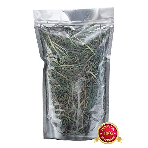 Rabbit Hole Hay Ultra Premium, Hand Packed Third Cut Timothy Hay for Your Small Pet Rabbit, Chinchilla, or Guinea Pig (1/4 lbs.)