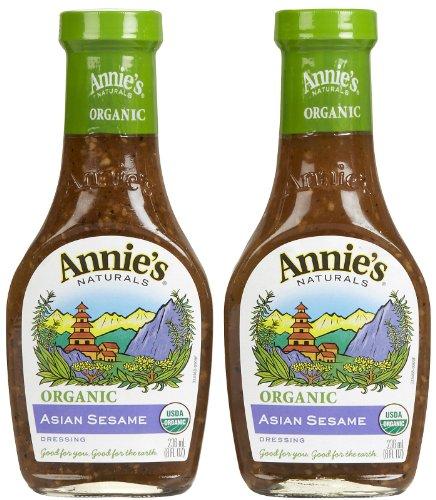 - Annie's Homegrown Organic Asian Sesame Dressing, 8 oz, 2 pk