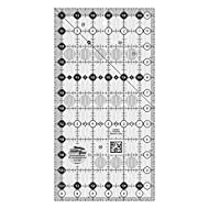 """Creative Grids 6.5"""" x 12.5"""" Rectangle Quilting Ruler Template CGR612"""