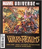 img - for War of the Realms Magazine, no. 1 (May 2019) (Marvel Universe Free!): Avengers, Champions, Asgardians of the Galaxy, Captain Marvel, Deadpool, Journey into Mystery, Superior Spider-Man, Venom, etc. book / textbook / text book