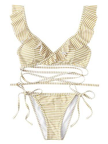 Beige Bikini Swimwear in Australia - 8