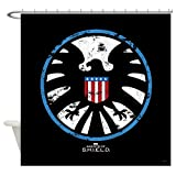 "CafePress Marvel Agents of S.H.I.E.L.D. Decorative Fabric Shower Curtain (69""x70"")"