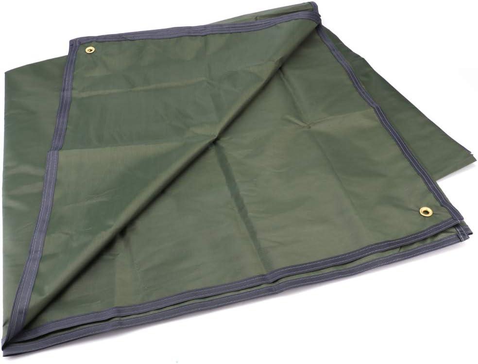 Tebery Waterproof Camping Tarp Mutifunctional Tent Footprint with Drawstring Carrying Bag for Picnic, Hiking -94.5 x 86.7 in