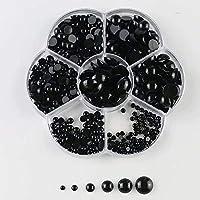 SUNXIN 500pcs Mezcla Ojos De Seguridad De Plástico
