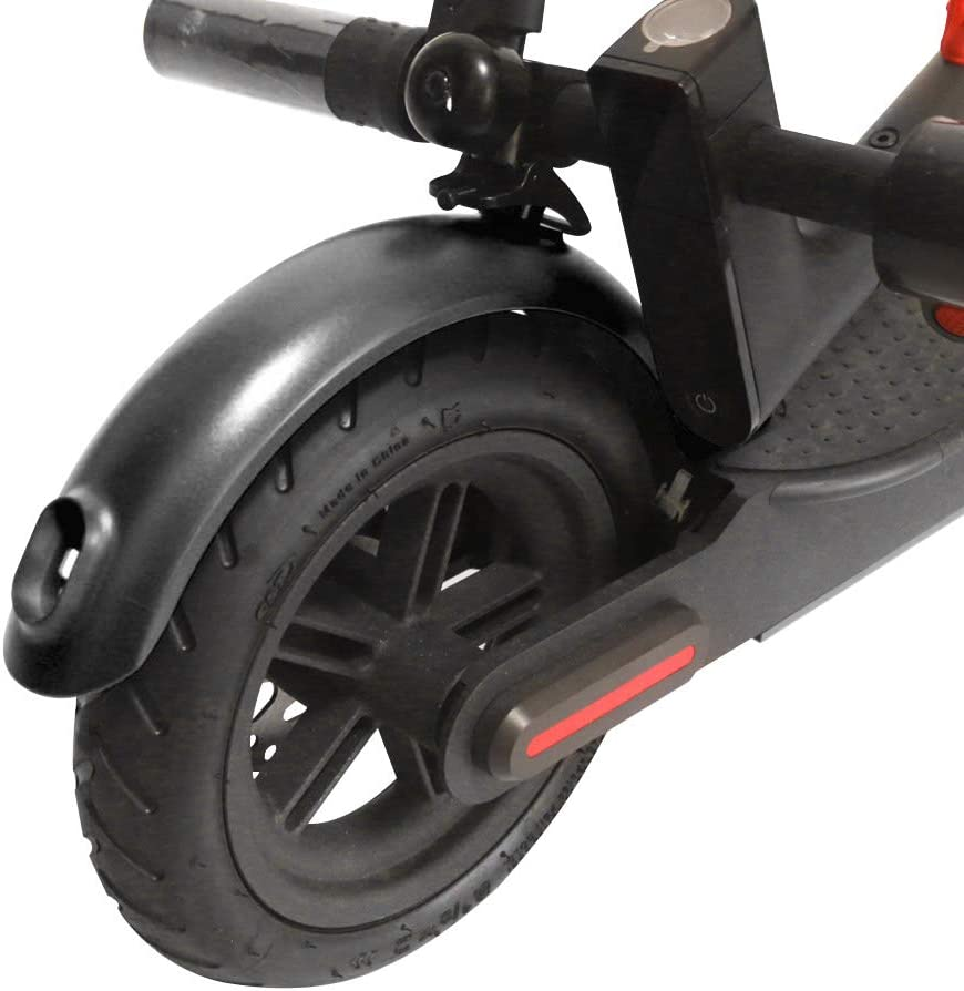 Laiashley Guardabarros de Bicicleta Guardabarros Trasero Guardabarros Guardabarros Trasero Accesorio de Repuesto para Scooter con Tornillos Y Tapas de Rosca para Scooter El/éctrico Negro
