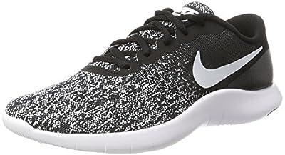 Nike Mens Flex Contact Black White Size 7