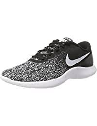 Mens Flex Contact Running Shoes (13 D(M) US, Black White)