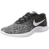 Nike Mens Flex Contact Black/White Running Shoe 10.5 Men US