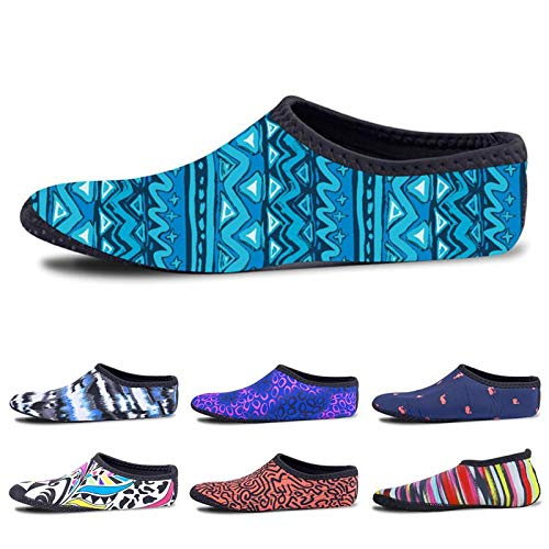 CUSHY Soft and Comforta Swimming Material Shoes Unisex Beach Non-Slip Swimming Socks Diving Surfing Beach Shoes Cover Shoes XL