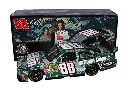 - AUTOGRAPHED 2008 Dale Earnhardt Jr. #88 National Guard Racing DIGITAL CAMO PAINT SCHEME (Hendrick Motorsports) Signed Action 1/24 NASCAR Diecast Car with COA (#23524 of only 30,126 produced!)