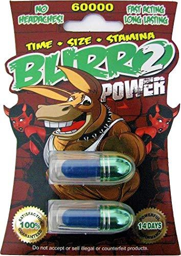 BURRO 300K * Male Power Sexual Enhancement Long Lasting 8 Pills (2 X 4 Packs) Up to 14 Days (Best Long Lasting Pills)