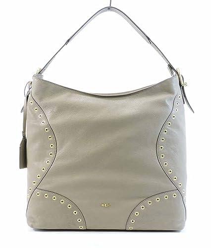 Amazon.com  Lauren Ralph Lauren Women s Morley Leather Hobo Bag Purse 1df8f2d972256