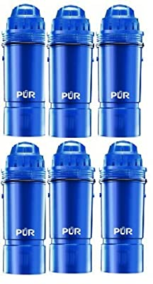 PUR Water Filters Provide Up to 120 Gallons of Clean Water CRF-950Z-3 | Fits Any Pitcher Replacement or Dispensers (PACK OF 6)