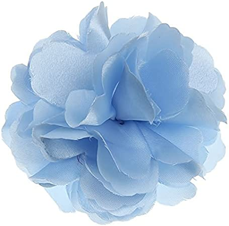 TinkSky beau Satin Style fleur de pivoine Femme Broche