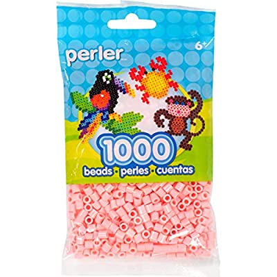 Perler Beads Fuse Beads for Crafts, 1000pcs, Flamingo Pink: Home & Kitchen