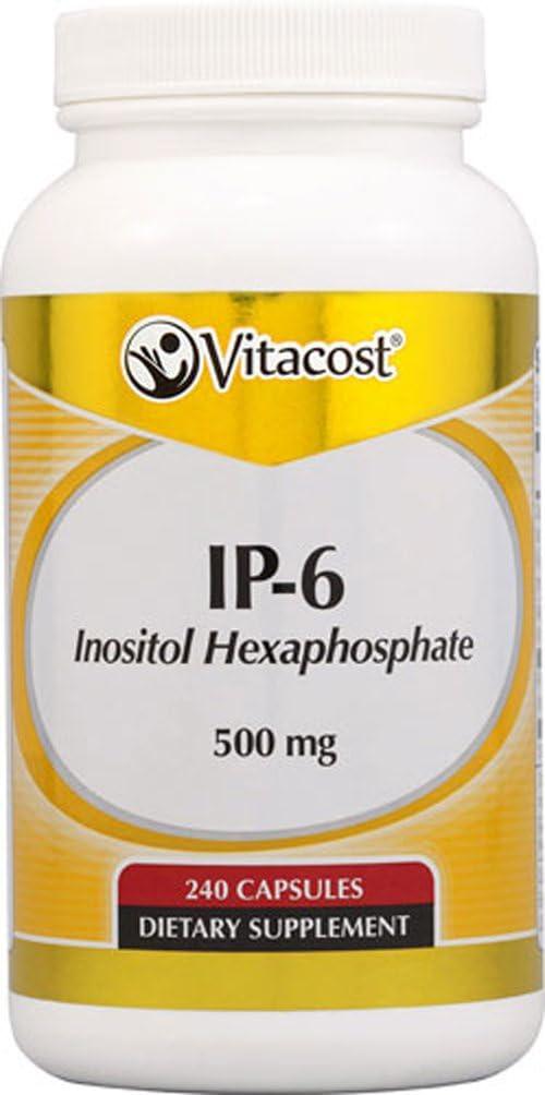 Vitacost IP-6 Inositol Hexaphosphate — 500 mg – 240 Capsules