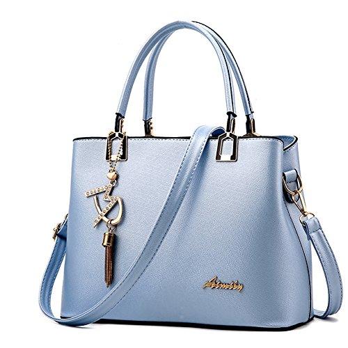 ciel main Sac Sac portés cuir Sac bleu Sac bandoulière AVERIL épaule à bleu Shopping G ciel femme Faux femme pA4qUtwx