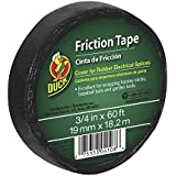 Duck Brand 393150 Friction Tape, 3/4-Inch x 60 Feet, Single Roll, Black