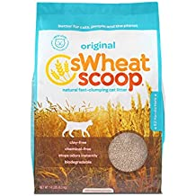 sWheat Scoop Fast-Clumping All-Natural Cat Litter, 14lb Bag