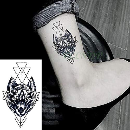 tzxdbh Impermeables Pegatinas de Tatuaje Temporales Cabeza de ...