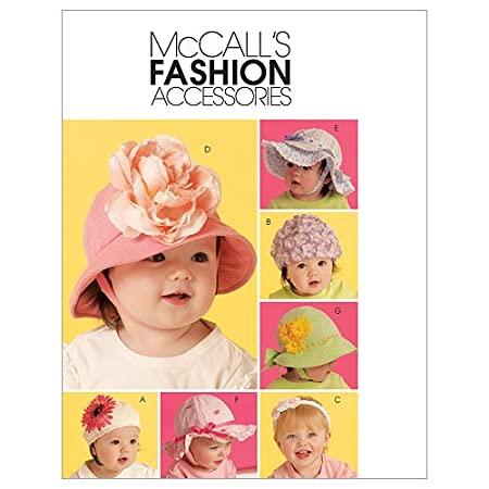 56e67af9a59 McCall s Patterns M5865 Infants  Toddlers  Hats