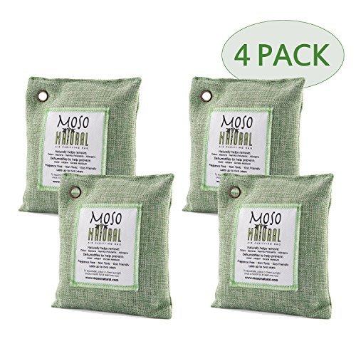 最安値に挑戦! Moso Natural 4-Pack 200gm Air Natural Purifying Bag, Green, 4-Pack [並行輸入品] Bag, B01N0ZUMWI, 大和文庫:612899c2 --- arianechie.dominiotemporario.com