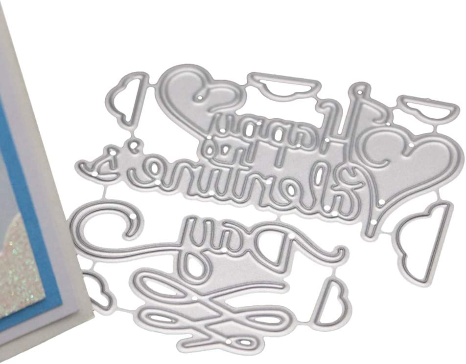 Metal Cutting Dies Stencils for DIY Scrapbooking Photo Album Valentines Day