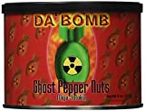 Da'Bomb Ghost Pepper Nuts, 8-Ounce Cans (Pack of 6)
