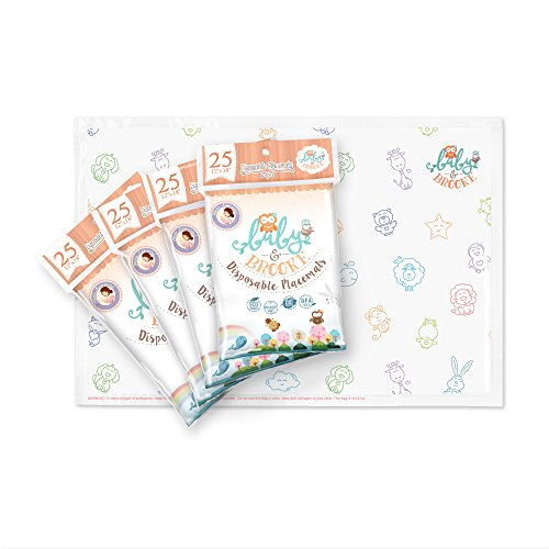 Baby Brooke STICKY Disposable Placemats product image
