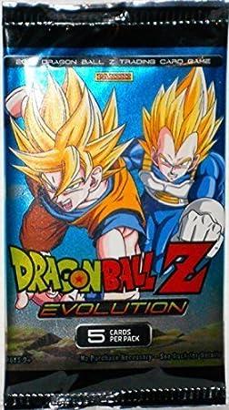 DragonBall Z Evolution 5 Card Pack by Panini: Amazon.es: Juguetes y juegos