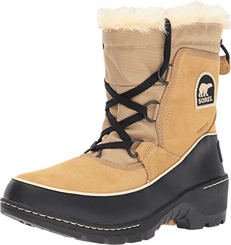 - Sorel Women's Tivoli III Boot (7 M US, Curry, Black)