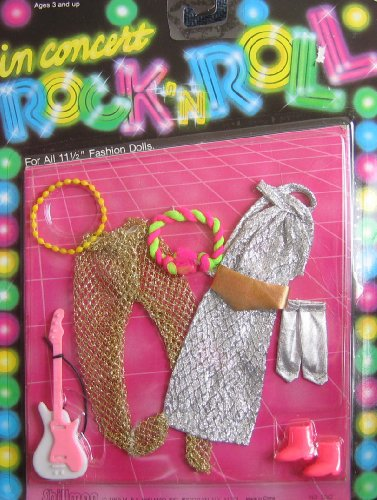 in Concert Rock 'N Roll Fashions for Barbie & 11-1/2