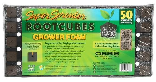 Super Sprouter 50-Cube Grower Foam Plug Tray