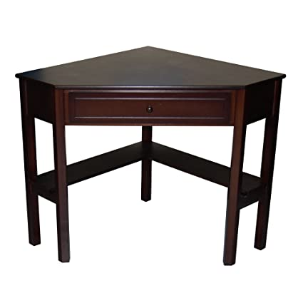 Espresso Corner Desk Desks For Children