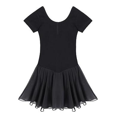 a2c7dcf5820 cooshional Robe Danse Fille Style Classique Robe Tulle Belle Chic Enfant  Princesse Eté  Amazon.fr  Vêtements et accessoires