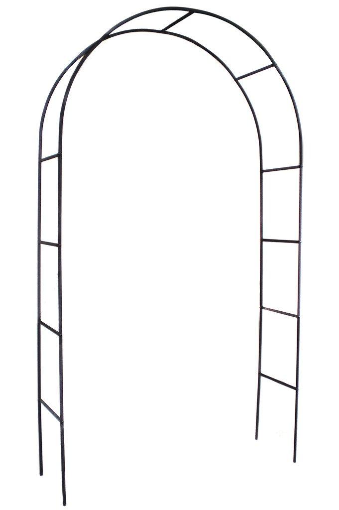 1. GO Steel Garden Arch, 7'8'' High x 4'5'' Wide, Garden Arbor for Various Climbing Plant, Outdoor Garden Lawn Backyard