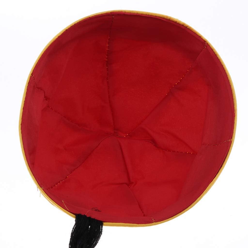 Giallo Sharplace Cappello del Principe Erede Cappello dellimperatore Giovent/ù Costume Fotografico come descritto
