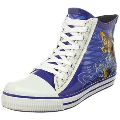 Ed Hardy Women's Hudson Slip-On Fashion Sneaker,Blue-10FHS103W,5 M US