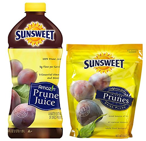(Sunsweet Prune Juice with Sunsweet Pitted Prunes, 64 fl.oz. and 8 oz. bag)
